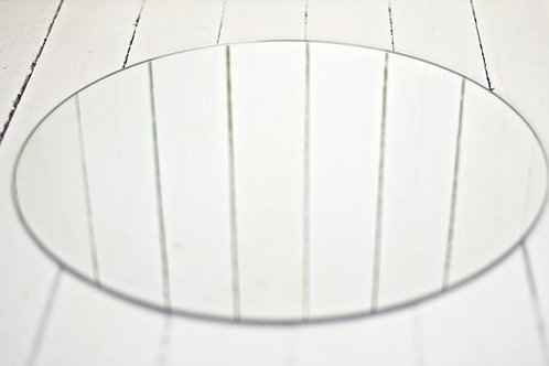 'Spark 2' - Medium Round Centrepiece Mirror