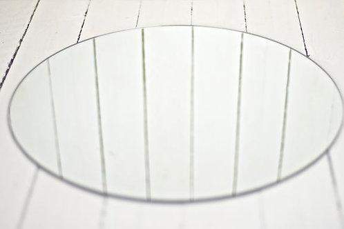 'Spark 3'  - Large Round Centrepiece Mirror
