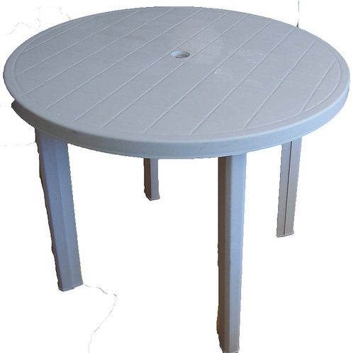 'Placky' - Small Round Plastic Table