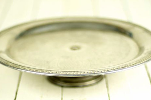 'Adelia' - Vintage Silver Cake Stand