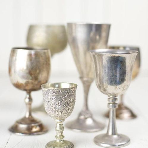 'Florence' - Vintage Silver Vases