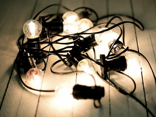'Aruba'  Clear Festoon lights