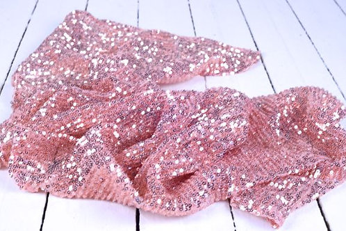 'Sequential' - Pink Sequin Table Runner