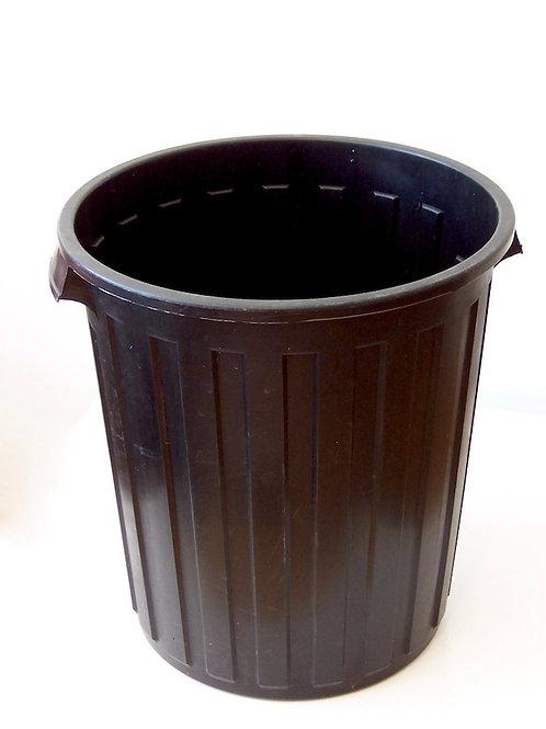 'Bin There & Back' - Black Garbage Bin