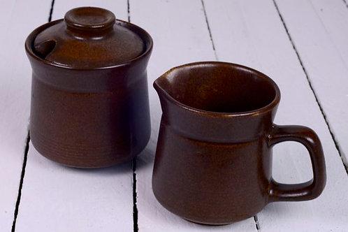 'Stoned' - Stoneware Milk Jug & Sugar Bowl