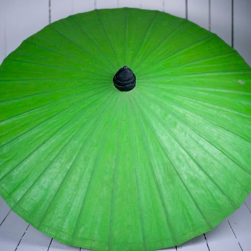 'Miss Lime' Green Paper Parasol