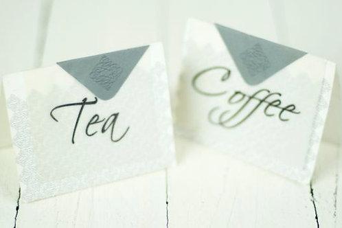 'Tea Anyone' Tea & Coffee Signs
