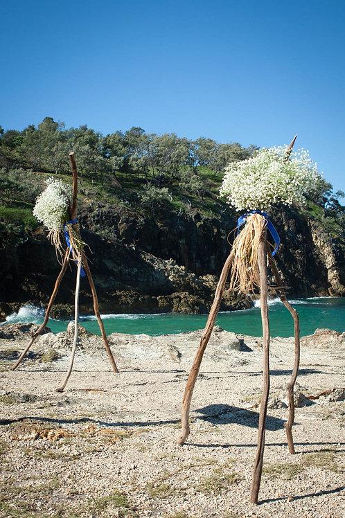 'Coast' Driftwood Tripod