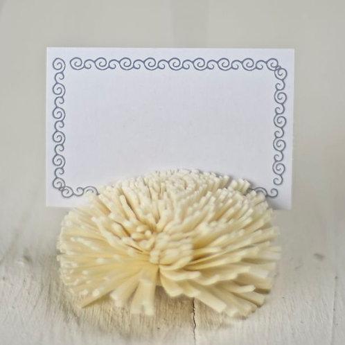 "'Bloss"" Blossom Card Holder"