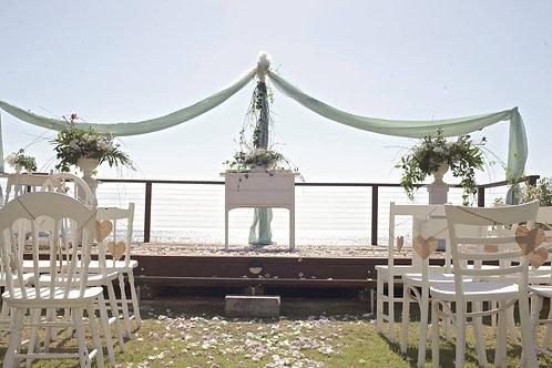 Custom Styled & Made Ceremony Installations