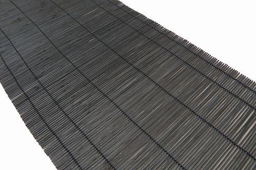 'Noir' Black Cane Table Runner