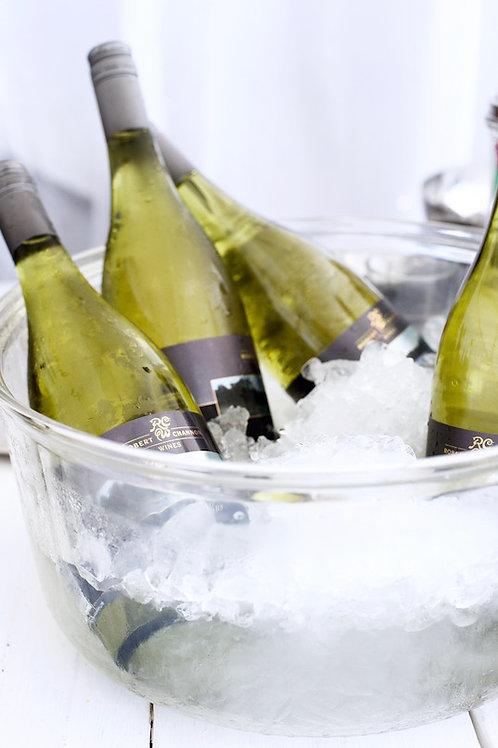 Glass wine cooler hire Brisbane wedding & event styling