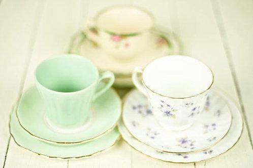 'Tinker' Vintage Cup Trios