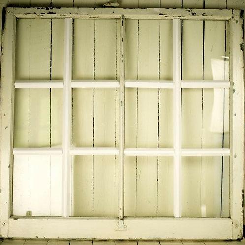'Allesandra' Vintage Square Window