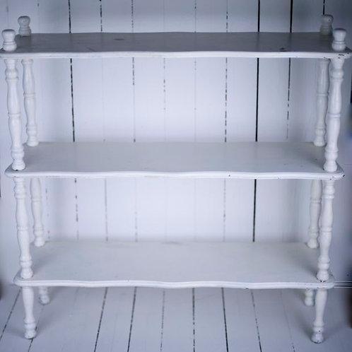 'Hold Me Close' - White Vintage Shelves