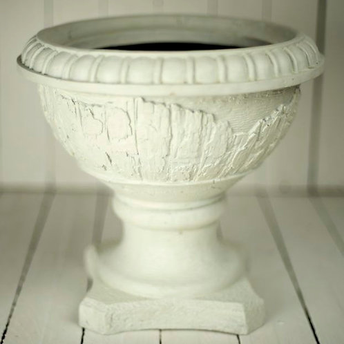 'Ernie' - Large Cream Urn