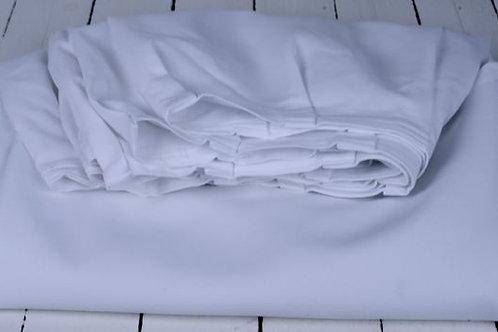 'Skirt Over' - White Table Skirt