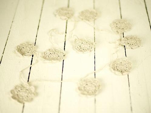 'Flower Fine' Crocheted Flower Bunting