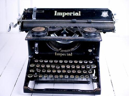 'Erol' Vintage Imperial Typewriter