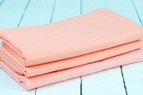 'Peachypie' - Peach Linen Napkin