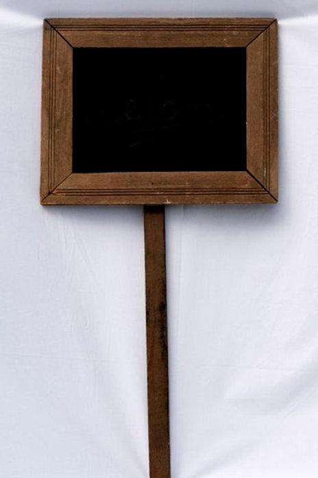 'Framed' - Vintage Chalkboard Frame