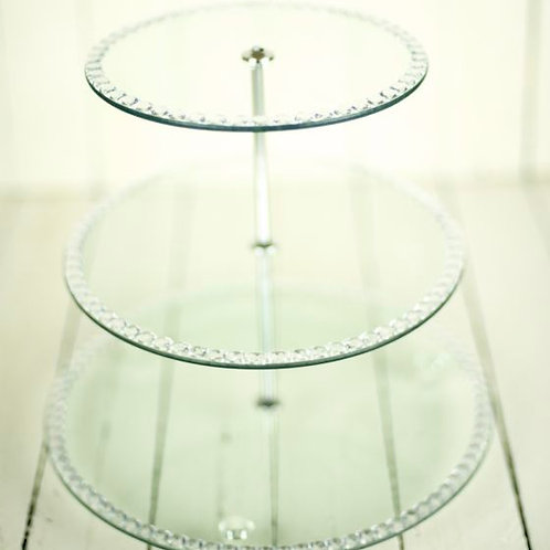 'Diana' Three Tier Cake/Sweet Stand