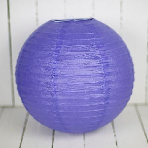 'Rice Purple' Purple Paper Lantern 12 Inch