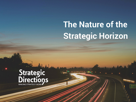 The Nature of the Strategic Horizon