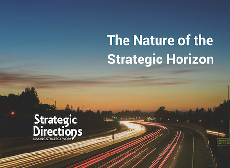 The Nature of the Strategic Horizon