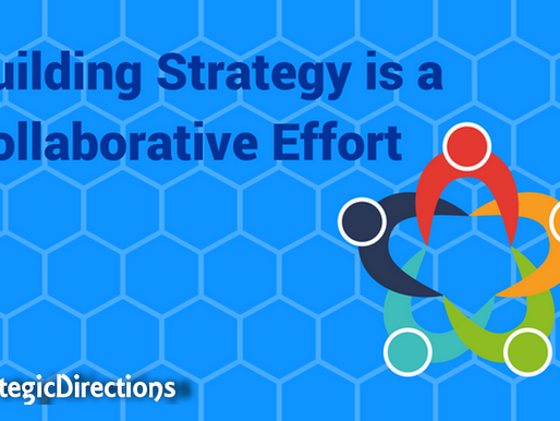 Building Strategy is a Collaborative Effort