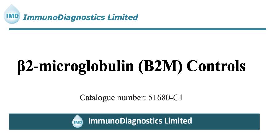 β2-Microglobulin(B2M) Control