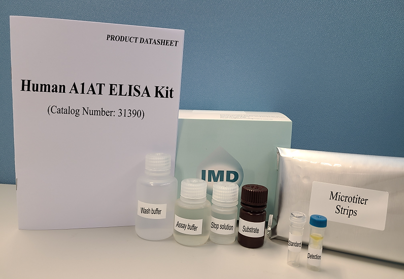 Human Alpha-1 Antitrypsin (A1AT) ELISA Kit