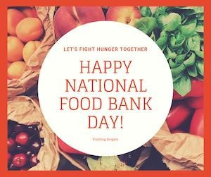 National Food Bank Day is the first Friday in September!
