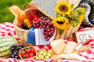 August is for picnics!