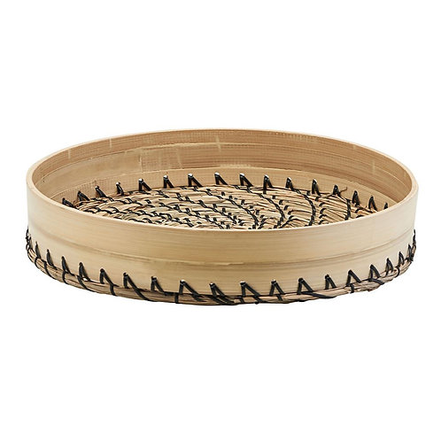 Bamboo and Seagrass Tray