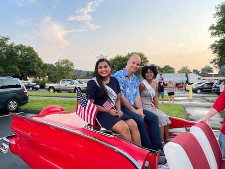 Push Pedal Pull Patriotic Parade