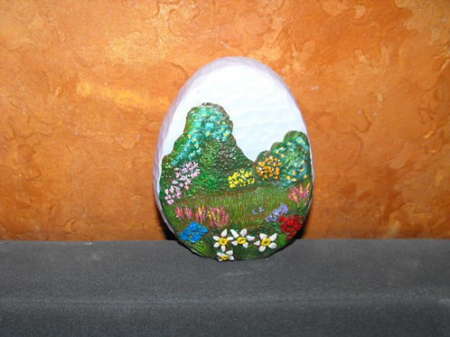Extra small Egg with scene