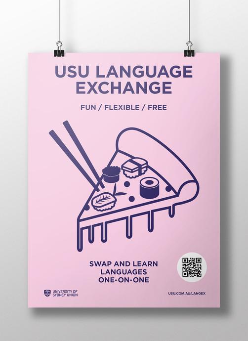 Language Exchange Poster
