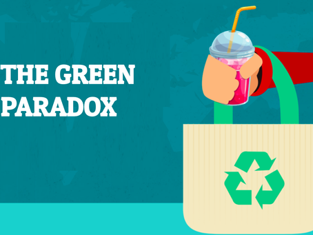 The Green Paradox: It's Time for an Intervention