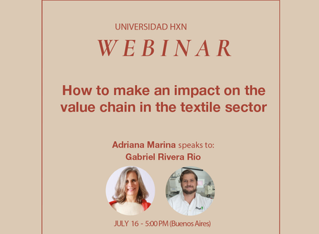 Webinar 16.7: How to make an impact on the value chain in the textile sector