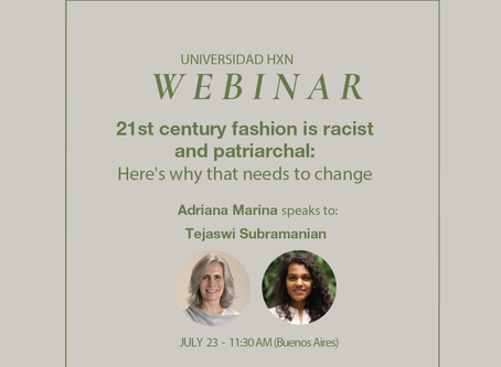 Webinar 23.7: 21st century fashion is racist and patriarchal: Here's why that needs to change