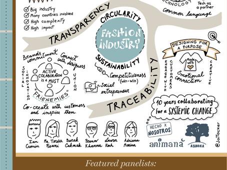Acelerando la moda circular a través de la colaboración en el evento HLPF de las Naciones Unidas