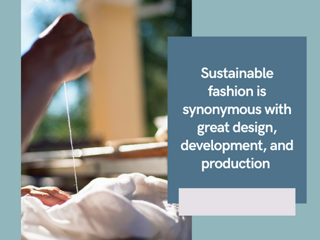 The History of Sustainable Fashion