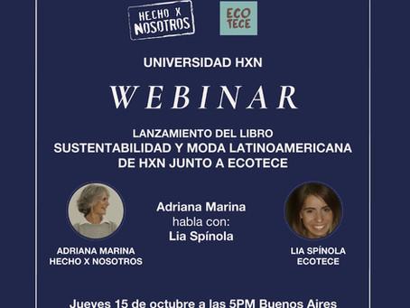 Lanzamiento del libro Sustentabilidad y Moda Latinoamericana de HxN junto a Ecotece