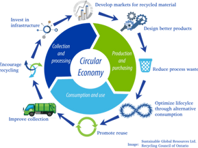 Circular economy as the vehicle that guides systemic change