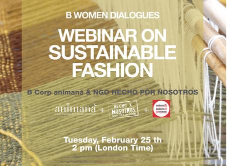 Webinar 25.2 Adriana Marina & Bwomen Authentic Sustainable Fashion.