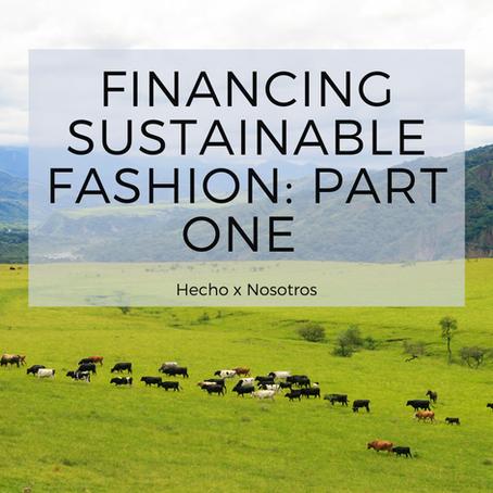 Financiamiento de la Moda Sostenible: Primera Parte