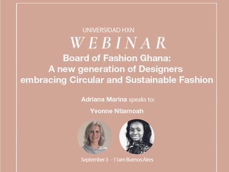 Webinar 3.9: Board of Fashion Ghana