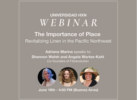 Webinar: The Importance of Place; Revitalizing Linen in the Pacific Northwest.