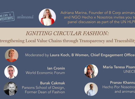 HLPF United Nations: HxN igniting Circular Fashion through collaboration